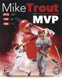 Mike Trout 2014 American League MVP Portrait Plus