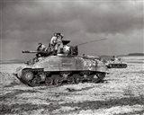 American Sherman tank units, 1944