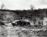 American Sherman tank units, 1943