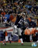 Tom Brady AFC Championship Game Action 2014 Playoffs