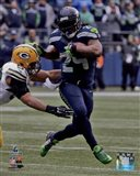 Marshawn Lynch NFC Championship Game Action 2014 Playoffs