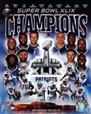New England Patriots Super Bowl XLIX Champions Composite