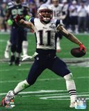 Julian Edelman Super Bowl XLIX Action
