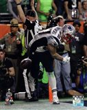 Rob Gronkowski Touchdown Celebration Super Bowl XLIX