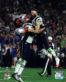 Rob Ninkovich & Julian Edelman Super Bowl XLIX Action