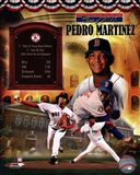 Pedro Martinez MLB Hall of Fame Legends Composite