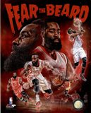 James Harden Fear the Beard Portrait Plus