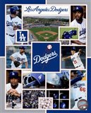 Los Angeles Dodgers 2015 Team Composite
