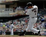 Joe Mauer 2015 Action