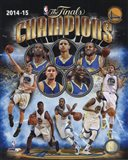 Golden State Warriors 2015 NBA Finals Champions Composite