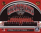 Chicago Blackhawks 2015 Stanley Cup Champions Team Sit Down Photo