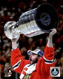 Brent Seabrook with the Stanley Cup Game 6 of the 2015 Stanley Cup Finals