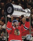 Patrick Kane with the Stanley Cup Game 6 of the 2015 Stanley Cup Finals