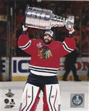 Corey Crawford with the Stanley Cup Game 6 of the 2015 Stanley Cup Finals