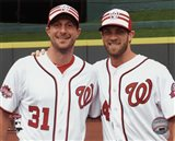 Max Scherzer & Bryce Harper 2015 MLB All-Star Game