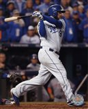 Mike Moustakas RBI Single Game 2 of the 2015 World Series