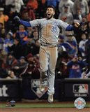 Eric Hosmer celebrates winning Game 5 of the 2015 World Series