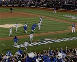 The Kansas City Royals celebrate winning Game 5 of the 2015 World Series