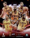 Cleveland Cavaliers 2015-16 Team Composite