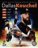 Dallas Keuchel 2015 American League Cy Young Winner Portrait Plus