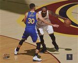 Stephen Curry & Lebron James Game 3 of the 2016 NBA Finals