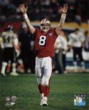 Steve Young Super Bowl XXIX Action