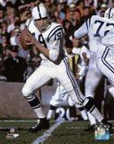 Johnny Unitas 1967 Action