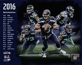 Seattle Seahawks 2016 Team Composite