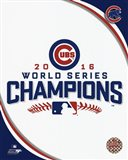Chicago Cubs 2016 World Series Champions Logo