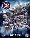 Chicago Cubs 2016 Team Composite