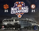 Clemson Tigers 2016 National Champions Stadium