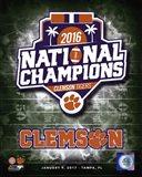 Clemson Tigers 2016 National Champions Logo
