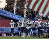 New England Patriots Team Introduction Super Bowl LI