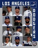 Los Angeles Dodgers 2017 Team Composite