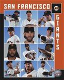 San Francisco Giants 2017 Team Composite