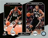 David Robinson & Tim Duncan Legacy Collection