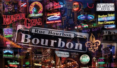 Bourbon Street Poster by Giesla Hoelscher for $55.00 CAD