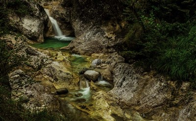 Almbachklamm 2 Poster by Duncan for $42.50 CAD
