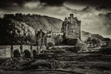 Fairytale Castle Sepia