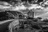 Fairytale Castle 2 Black & White