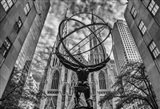 Rockefeller plaza New York Black/White