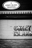 Coney Island New York Black/White