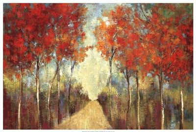 Nature's Walk  ( path) Poster by Ella K for $50.00 CAD