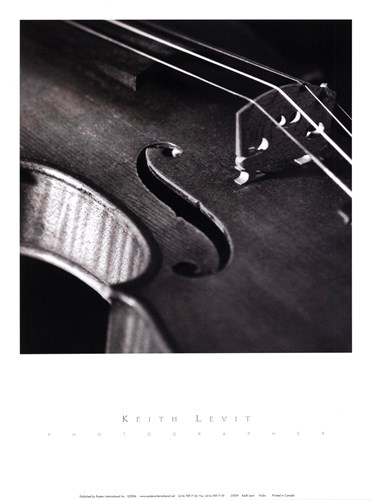 Violin Poster by Keith Levit for $12.50 CAD
