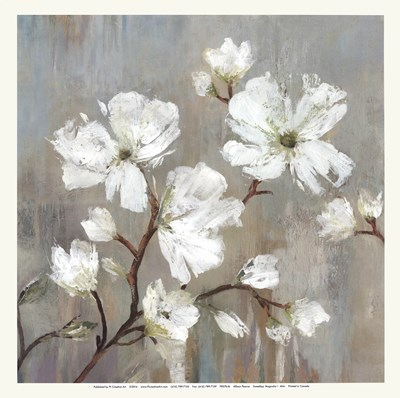 Sweetbay Magnolia I - Mini Poster by Allison Pearce for $15.00 CAD
