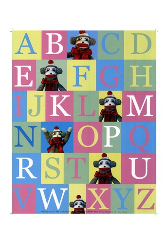 Alphabet Theory - mini Poster by JS Christie for $18.75 CAD