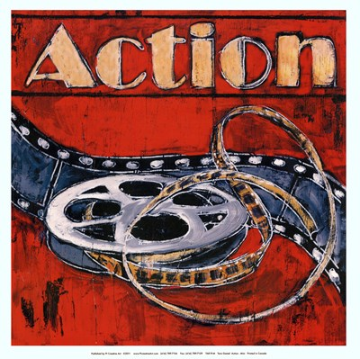Action - mini Poster by Tara Gamel for $15.00 CAD
