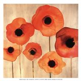 Orange Poppies II -Mini