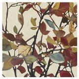 Bordeaux Leaves I - Mini