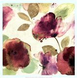 Watercolour Florals I